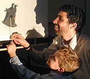 shadow puppet workshop offers interactive programs for children